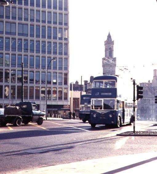 Bradford Trolley Bus - Route 7 to Thornton