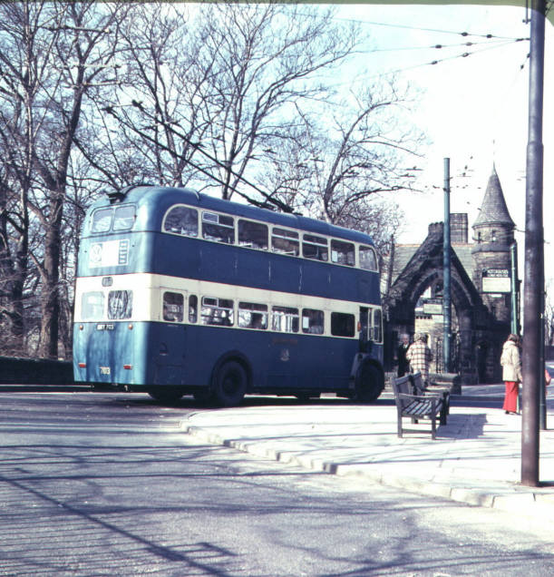 Bradford - Duckworth Lane terminus