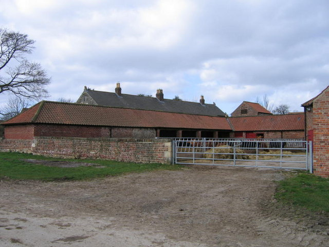 A Cow Barn At Healaugh Manor Farm