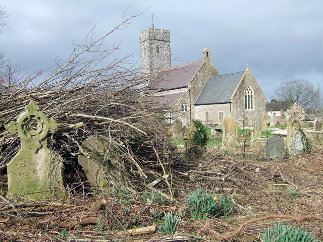 Steynton church