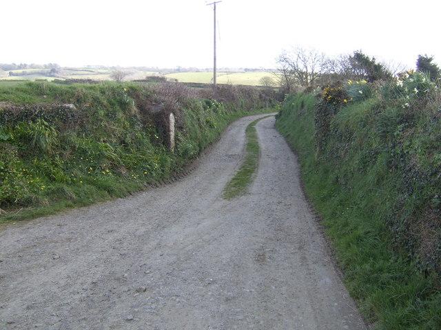 Lane to Trenithon