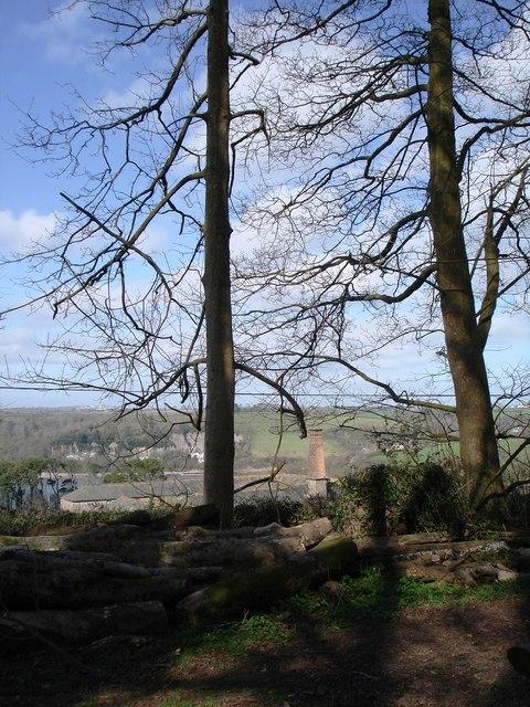 Lower Greenway farm Chimney