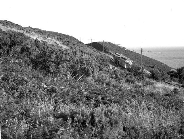 The scenic Manx Electric Railway