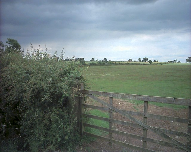 A gate near Hannington