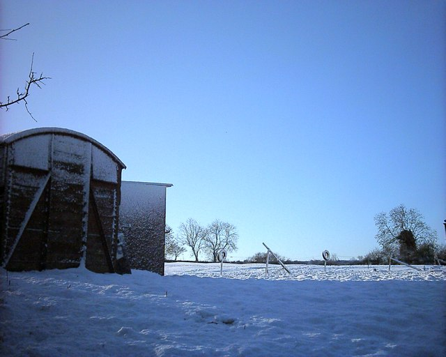 Barn near Hannington