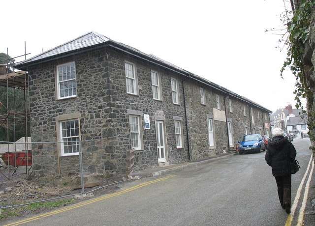 Redevelopment in Water Street, Porthaethwy