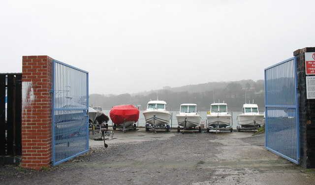 The Porth Daniel Boat Storage Yard, Water Street
