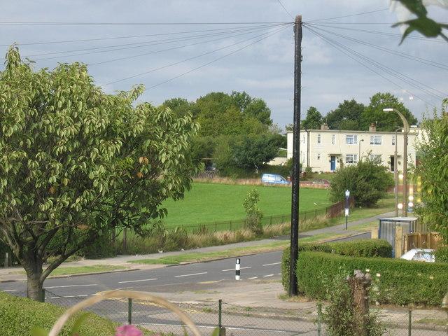 View Down Wordsworth Avenue