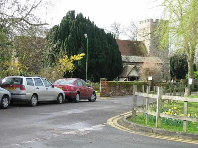 The church in Sturry