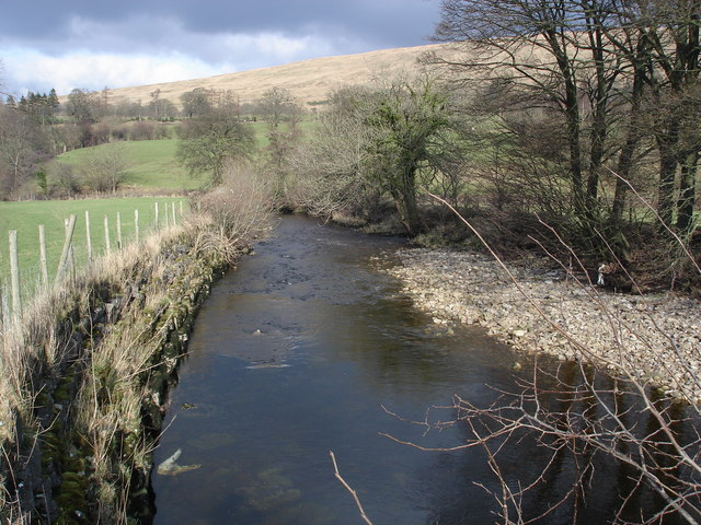 The River Dee, Dentdale.