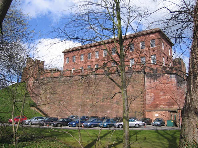 Chester Castle Outer Wall and Napier House