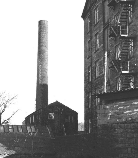 Cullingworth - small mill building