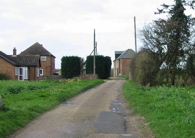 Mayton Farm at the end of Mayton Lane