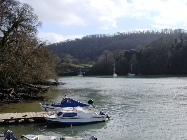 Boats at Greenway Quay