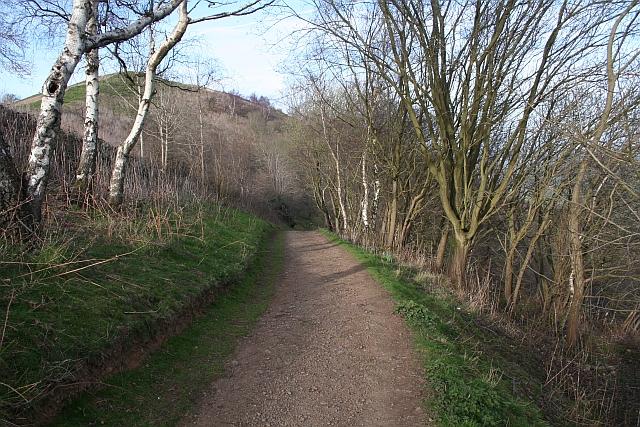Path Down to Berrington's Quarry