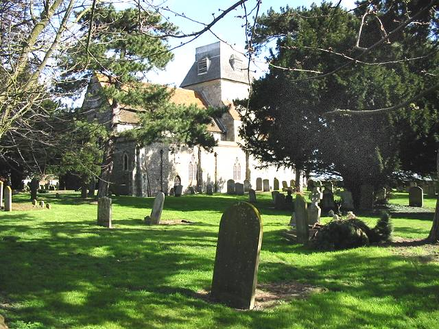 Chislet church and graveyard