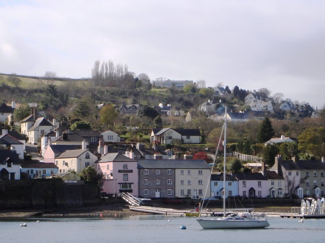 Ferry Boat Inn,  Dittisham from Greenway Quay