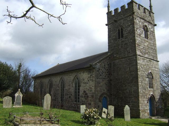 Parish church of St Martin-in-Meneage