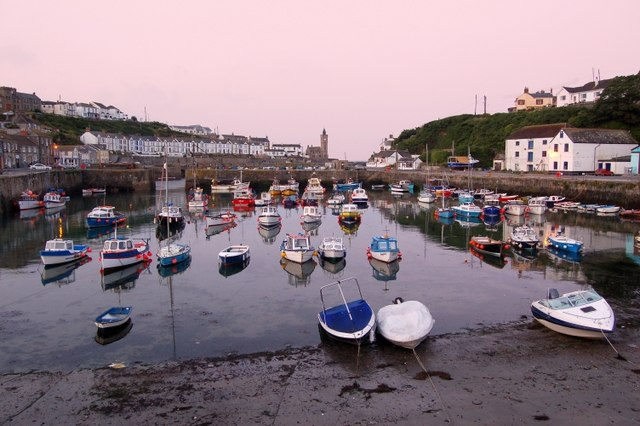 Early morning at Porthleven