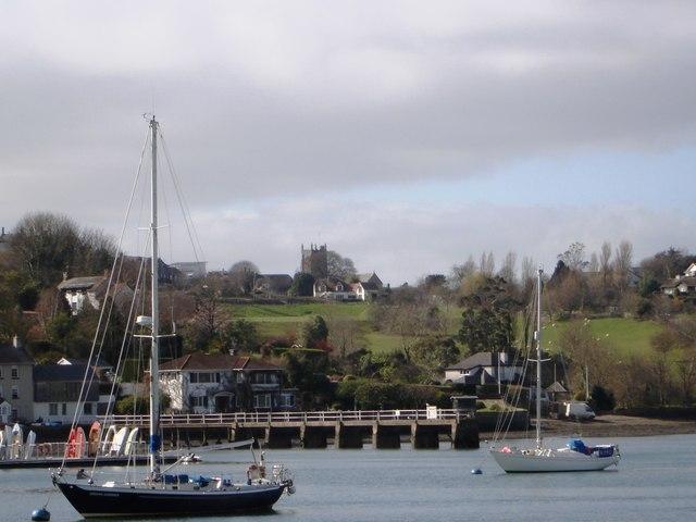 Dittisham Pier, fron Greenway Quay