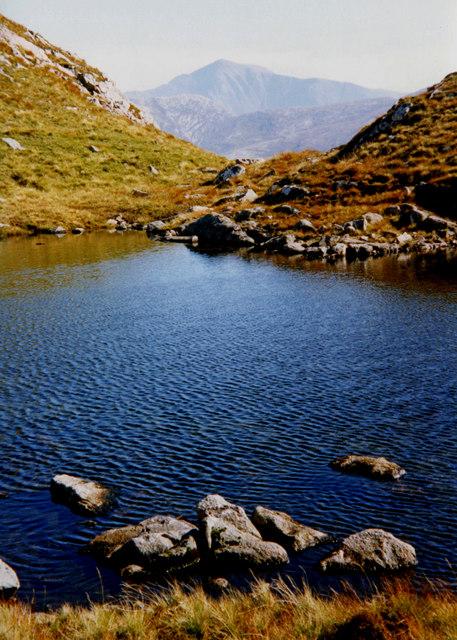 Lochan on Stob Gaibhre