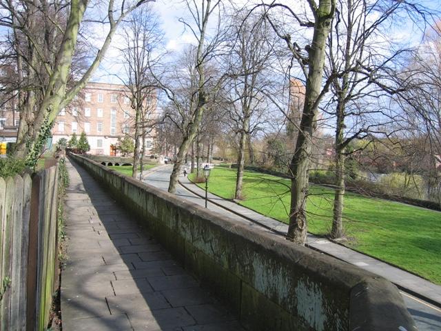Chester's City Walls - Grosvenor Road to Bridgegate #7