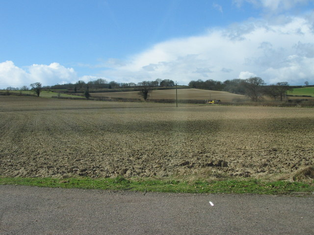 Ploughed Field south of Rush Green