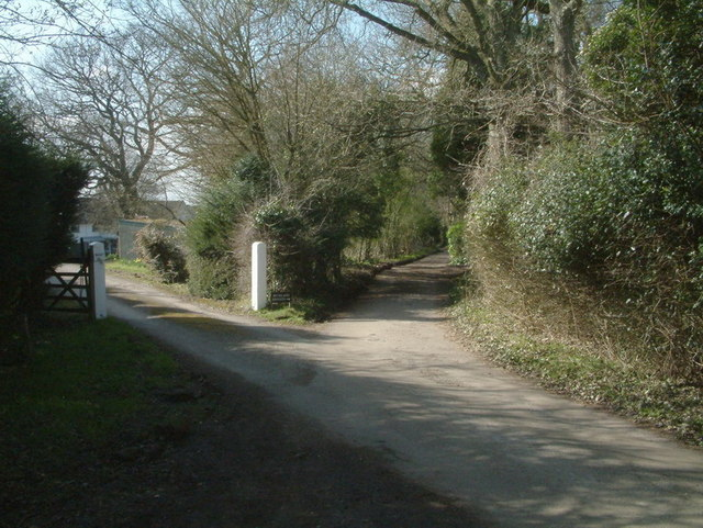 Bridleway on the Buckland Hills