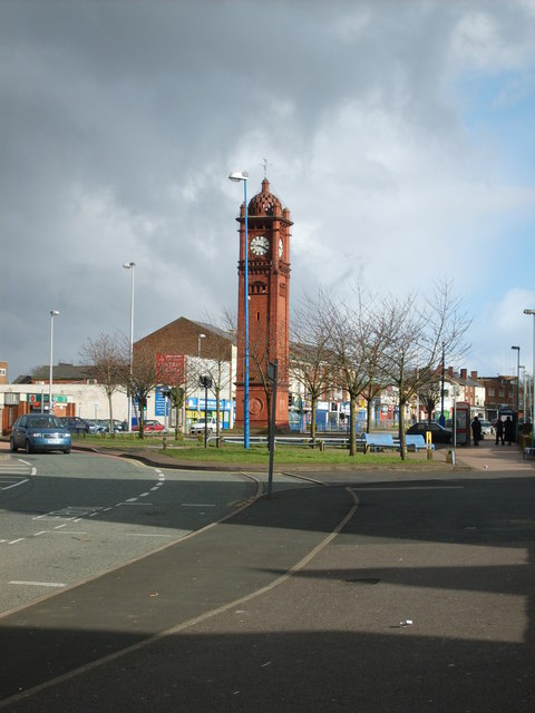 West Bromwich Clock Tower