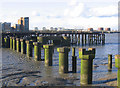 TQ4479 : Disused pier, Woolwich (2) by Stephen Craven
