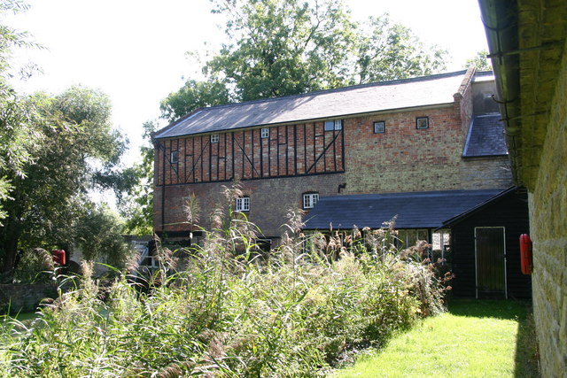 The 17th century watermill at Bromham