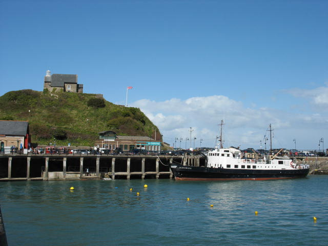 Outer Harbour and Lantern Hill  Ilfracombe