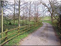 ST8418 : Footpath to Woodbridge by Maigheach-gheal