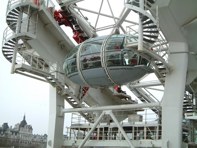 Entrance to The London Eye