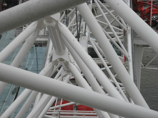 The Structure of The London Eye