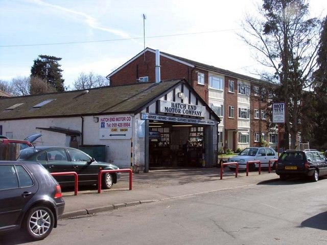 Hatch End Motor Company Cornwall Road John Salmon