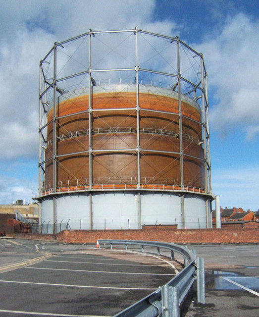 Crossgates Gasholder Number 1