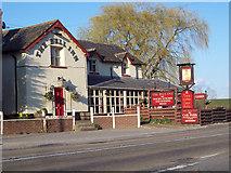 SU0741 : The Bell Inn, Winterbourne Stoke by Miss Steel