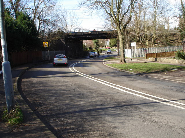 Railway bridge over Tamworth Road, A453