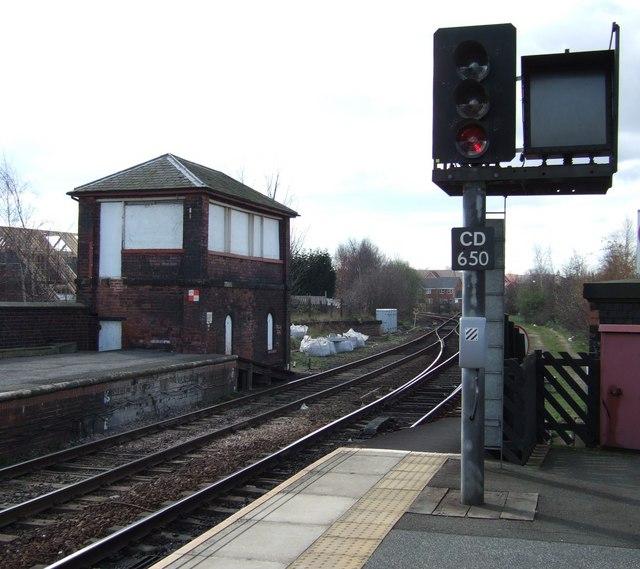 Castleford Station Signal Box