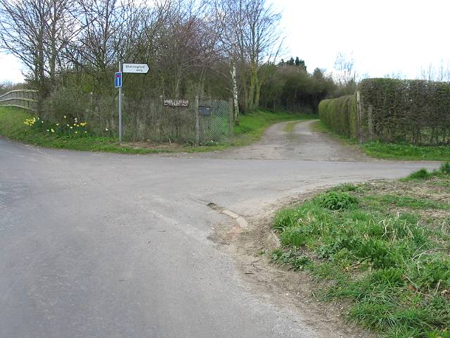 The road to Shelvingford Farm
