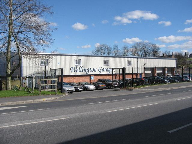 Wellington Garage Bury Road