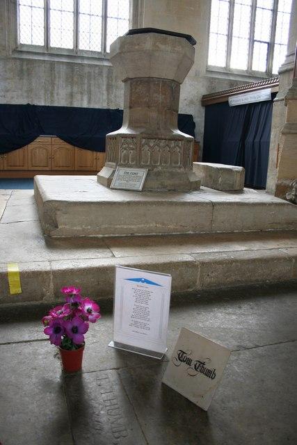 Tom Thumb's grave