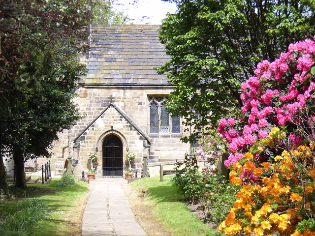 The Porch of Kirkthorpe Church.