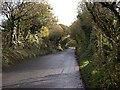 SX0456 : The Road through Starrick Moor by Tony Atkin