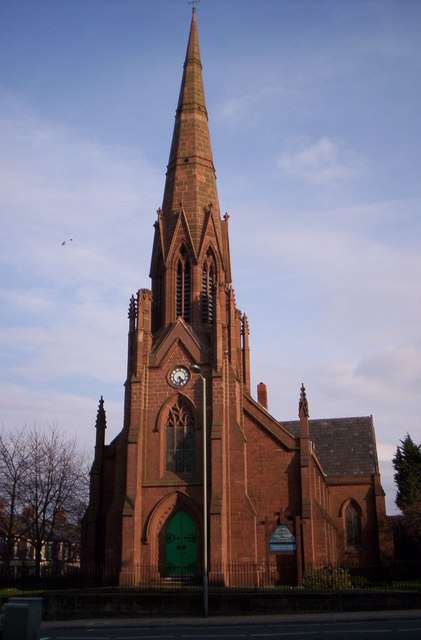 Holy Trinity Church, Walton Breck, Liverpool