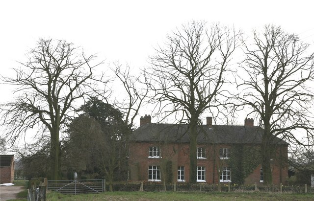 Farmhouse at Lower Knightley.
