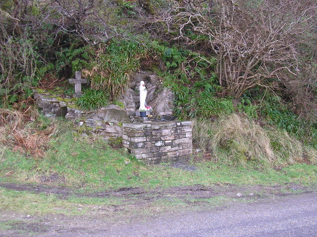 Shrine on Road to Maghera Strand