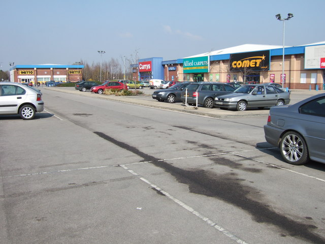 Park Road Retail Park, Pontefract