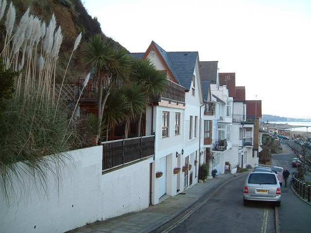 Leading down to sea front Shanklin